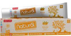 Creme Dental Orgânico Natural  c/ Extrato de Cúrcuma, Cravo e Melaleuca 80g