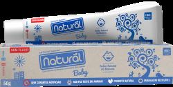Gel Dental Natural Baby Suavetex c/ Ext. de Banana, Camomila, Erva Cidreira 50gr